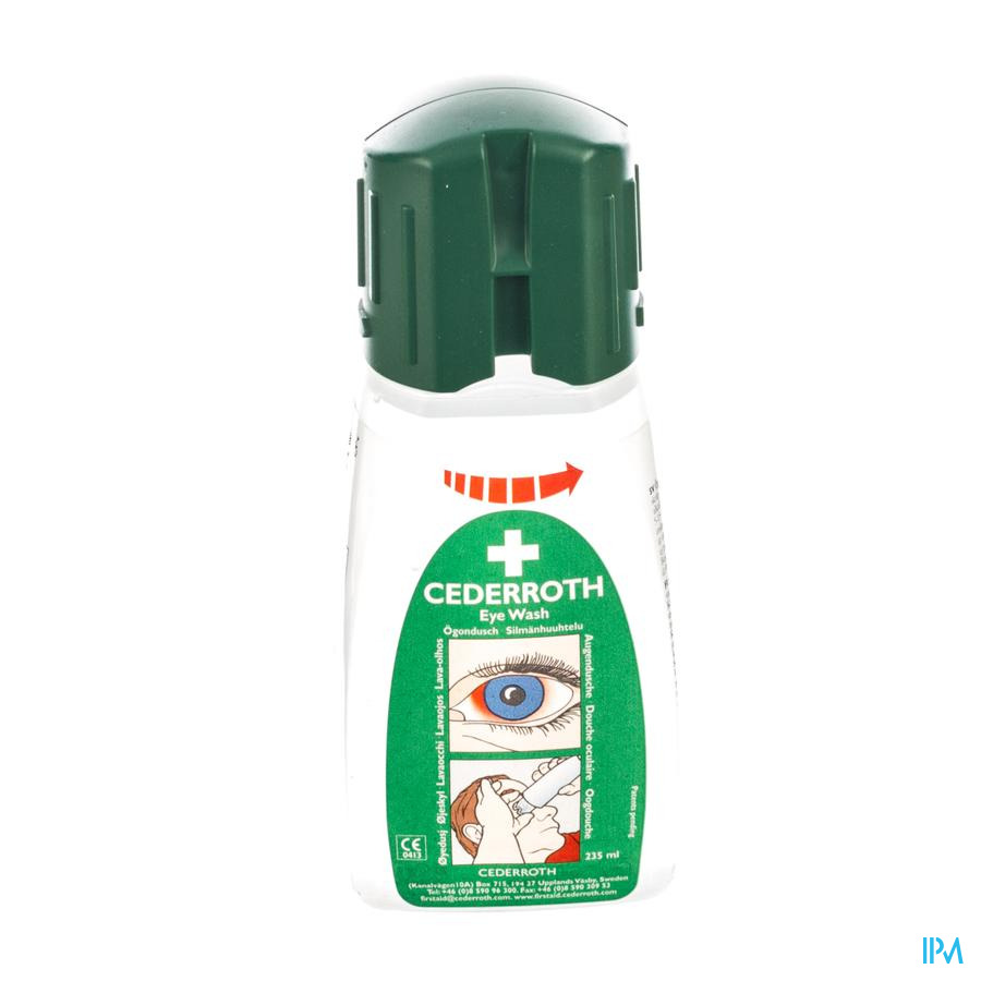Oogspoeling Cederroth Mini 235ml Covarmed