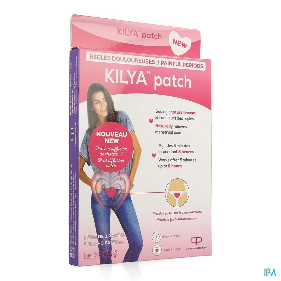 Kilya Patch Heating Patch 3