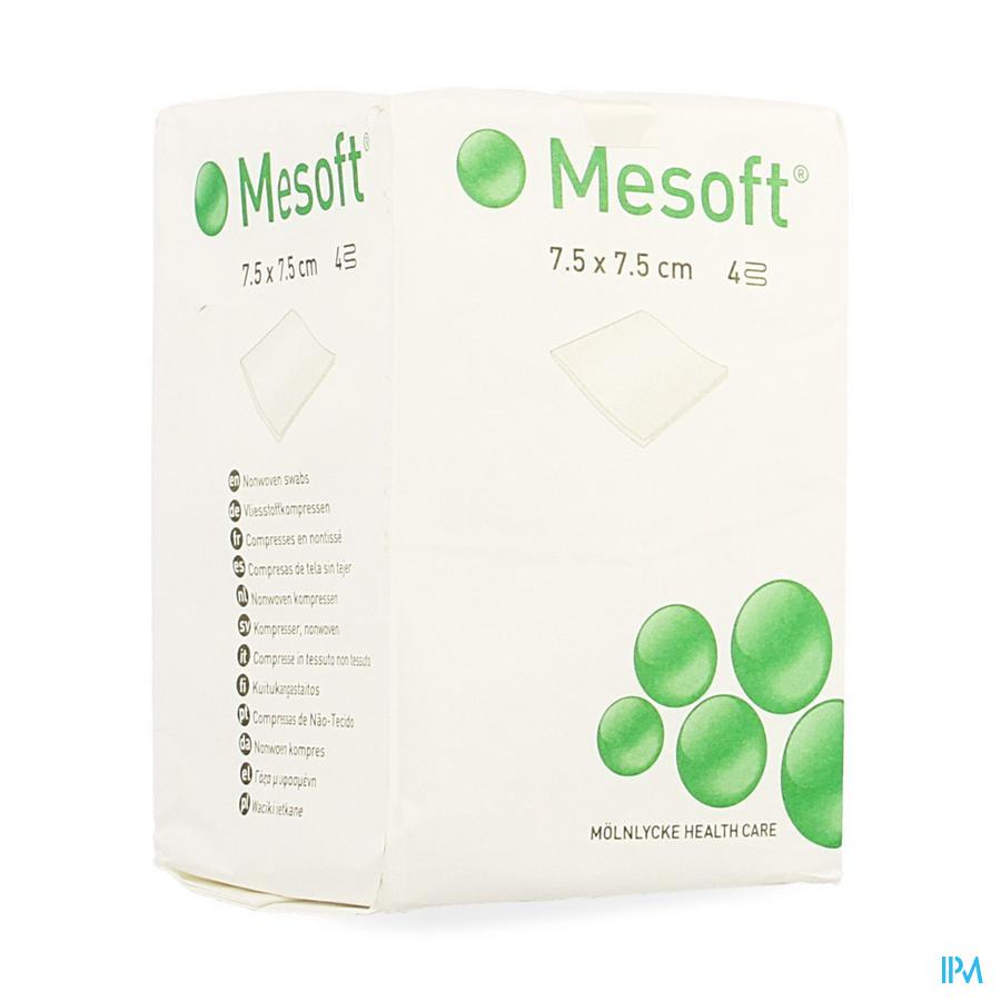 Mesoft S Cp N/st 4c 7,5x 7,5cm 100 157100
