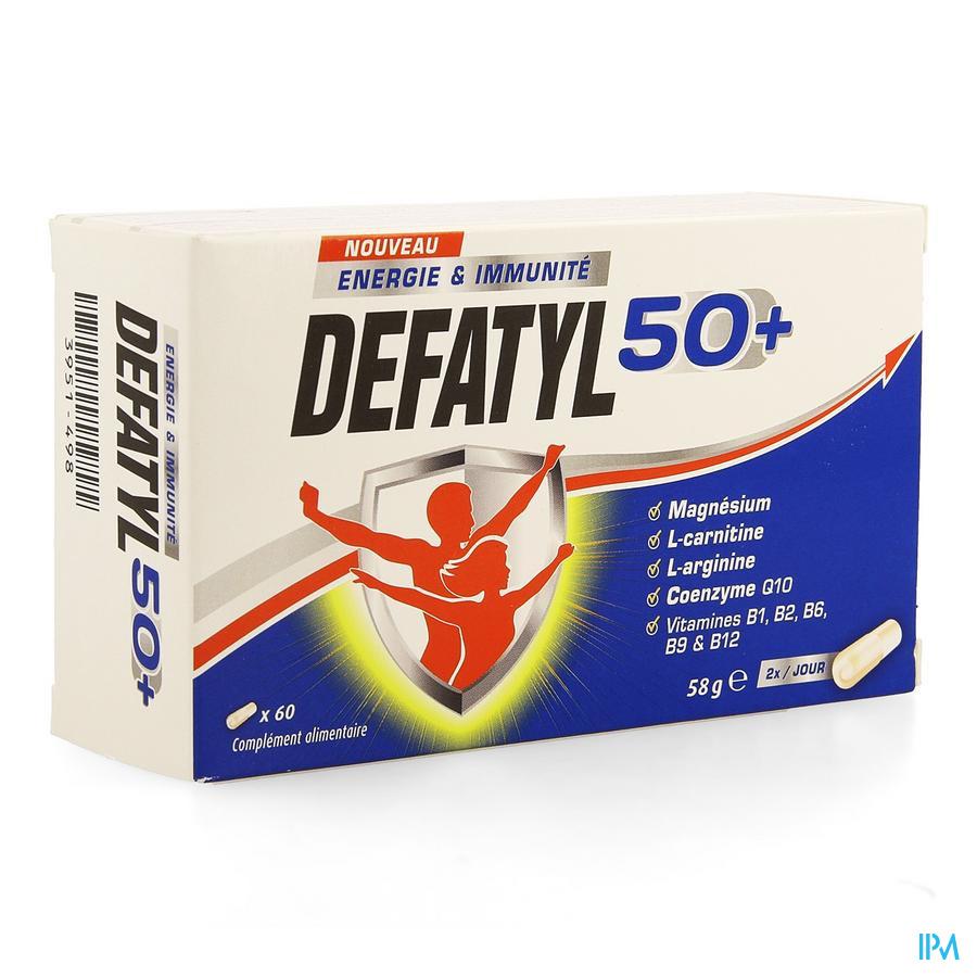 Defatyl 50+ Caps 60