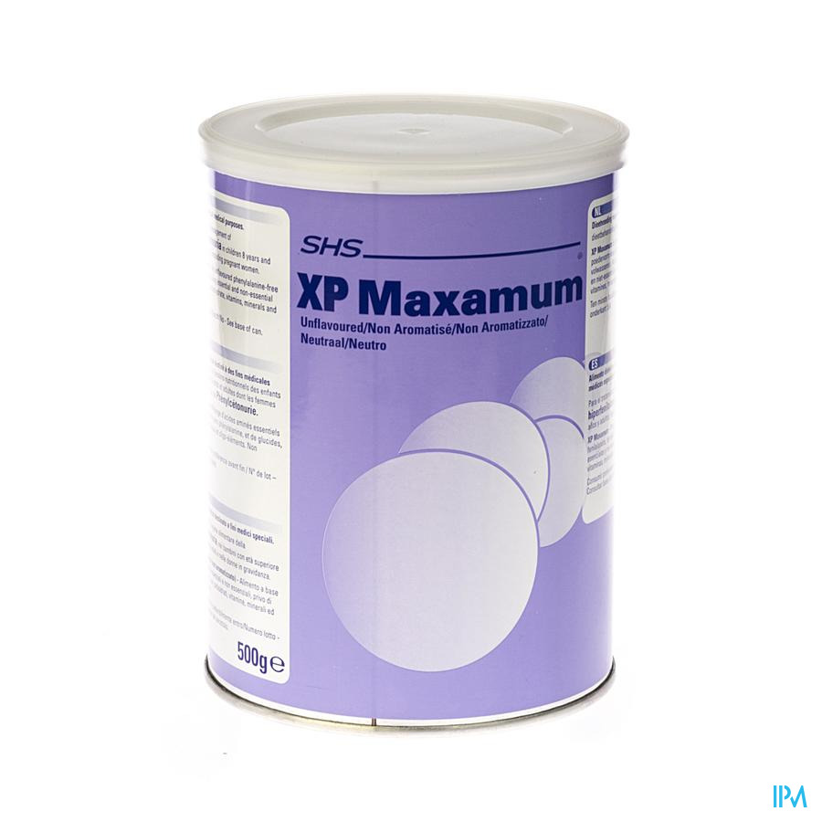 Xp-maxamum Poeder Unflav. 500 gr  -  Nutricia