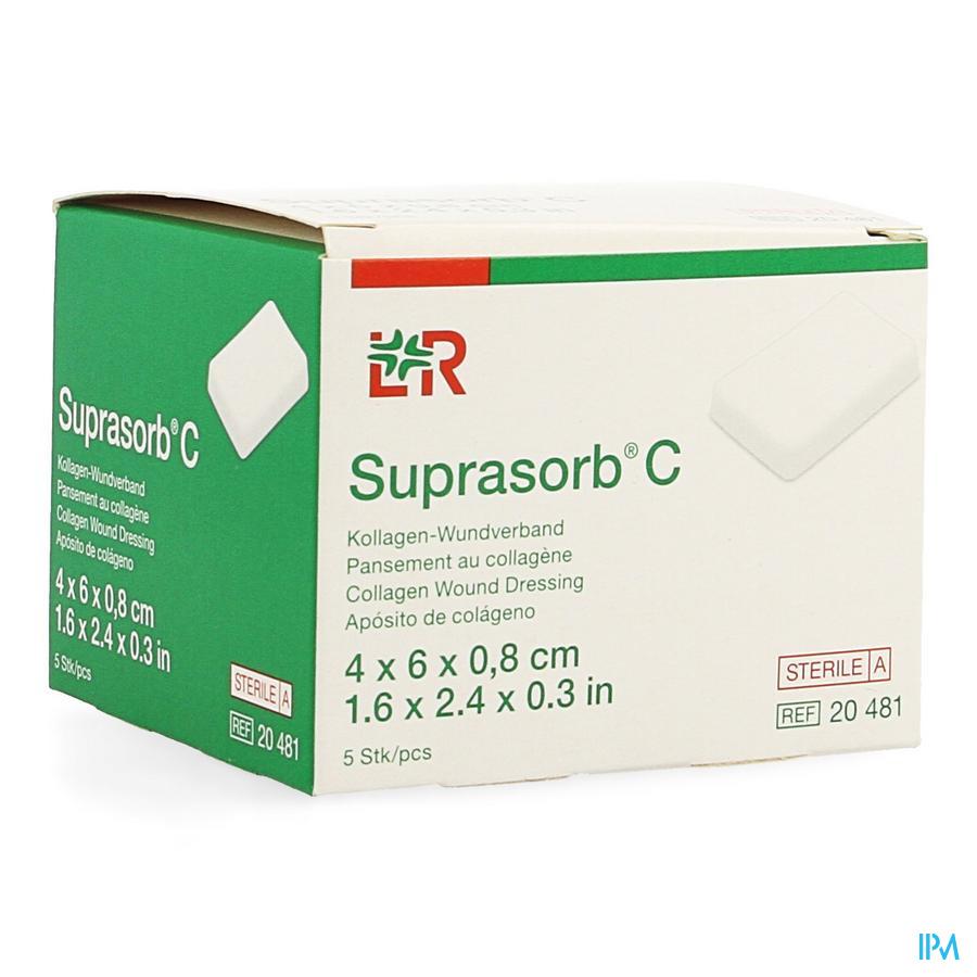 Suprasorb C Cp Steril 4x 6x0,8cm 5 20481