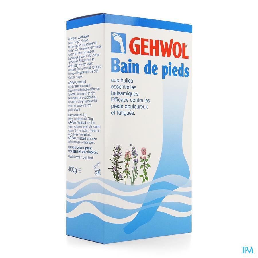 Gehwol Bain Pieds 400g Consulta