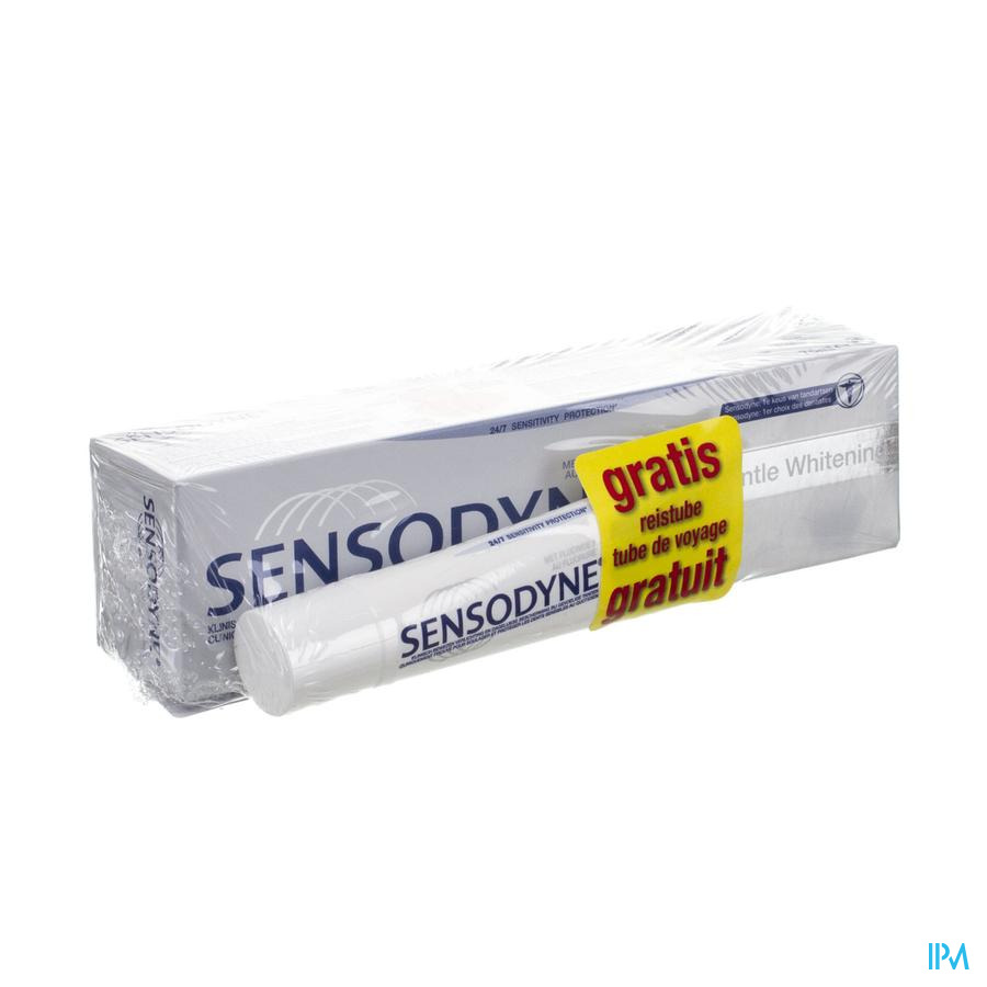 Sensodyne Tandp Gentle Whiten.75ml+minitube 20ml