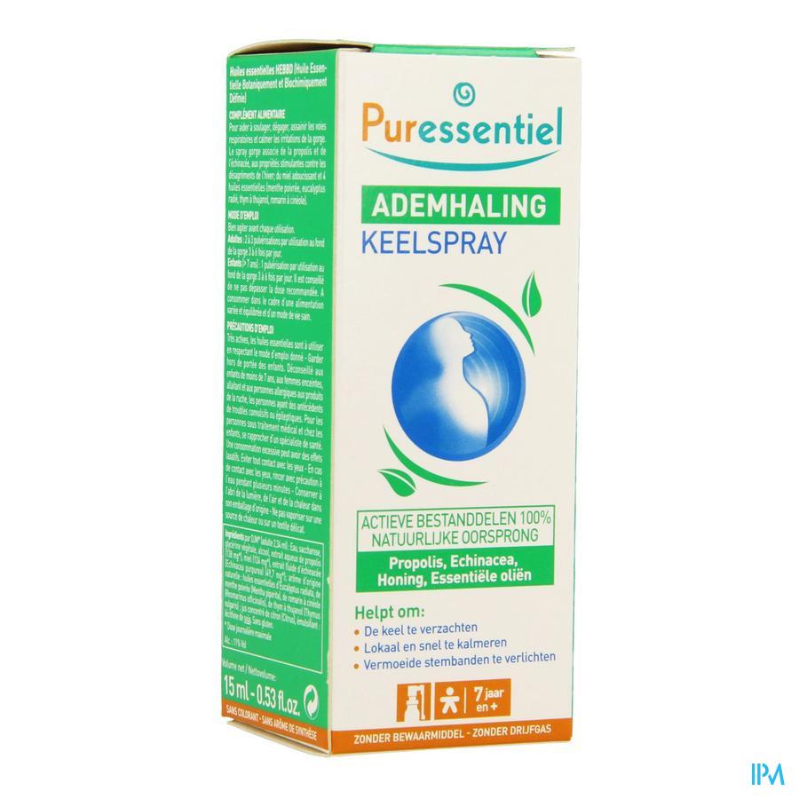 Puressentiel Ademhaling Keelspray 15ml