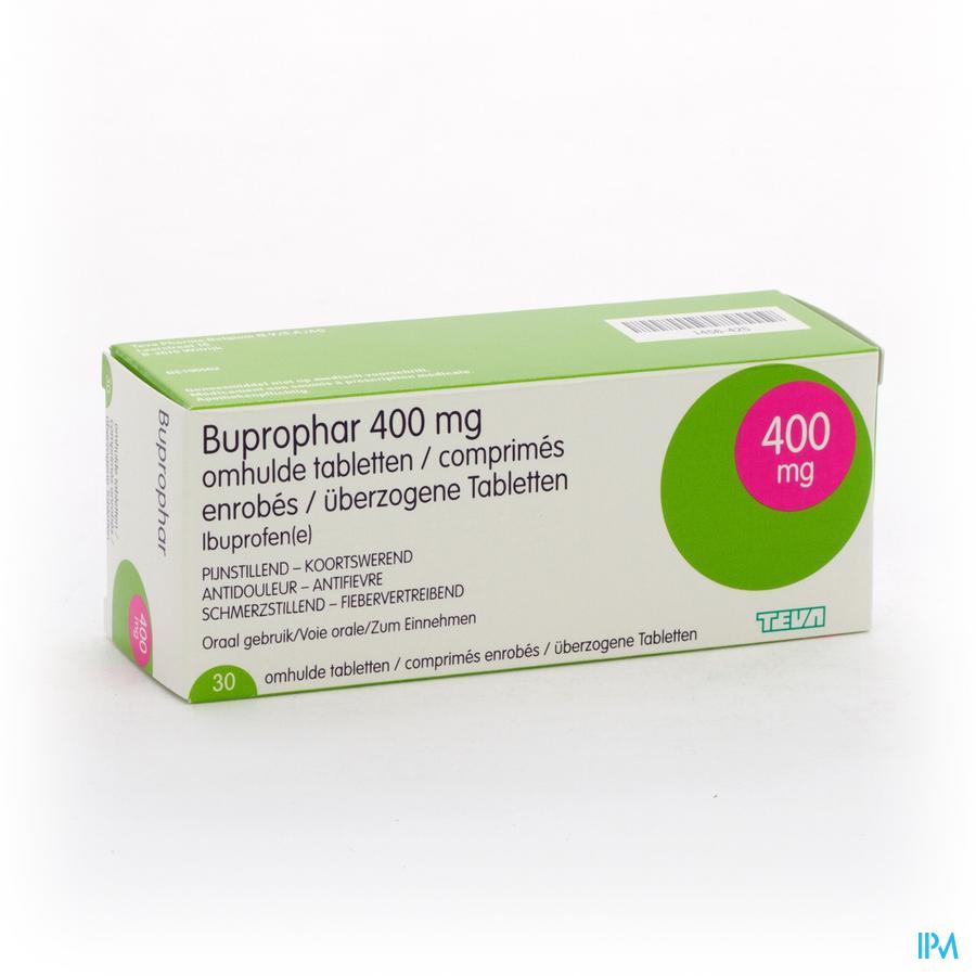 Buprophar 400mg Drag 30 X 400mg