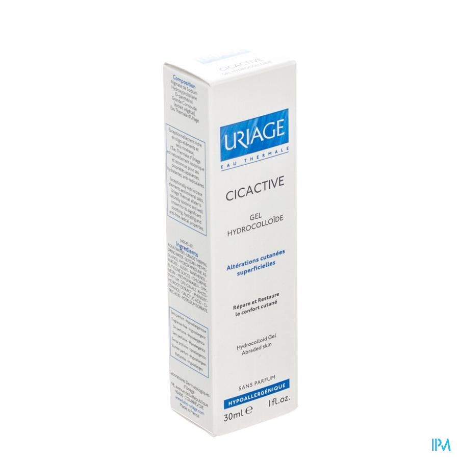 URIAGE CICACTIVE FLUIDE HYDROCOL. TUBE 30ML