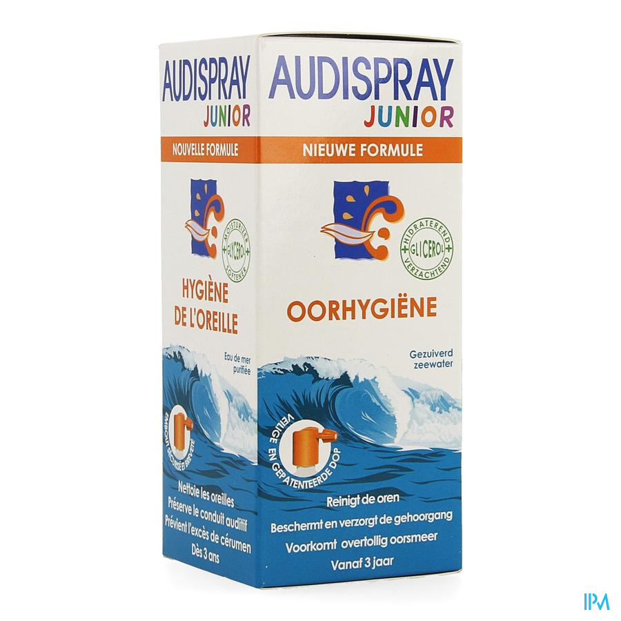 Audispray Junior Zeewater + Glycerol 25ml