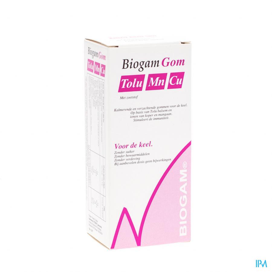 Biogam Gom 2000 Mn Cu Tolu Blist. 4x10