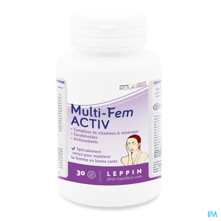 Leppin Multi Fem Active Pot Comp 30