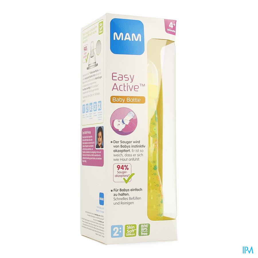Mam Zuigfles Easy Active Baby Bottle 330ml Unisex