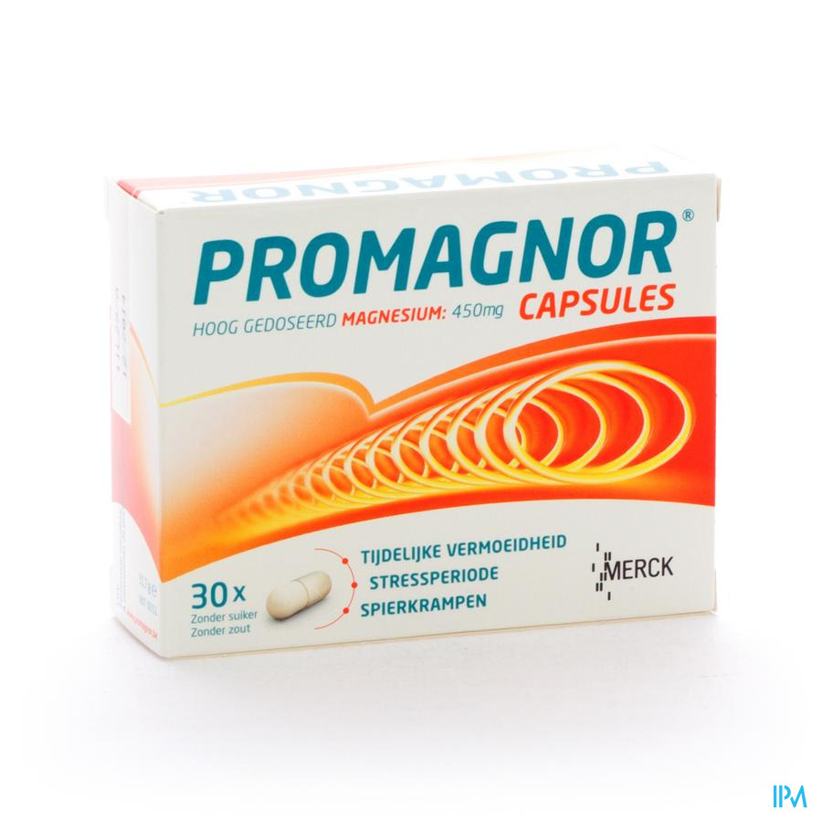 Promagnor Caps 30x450mg