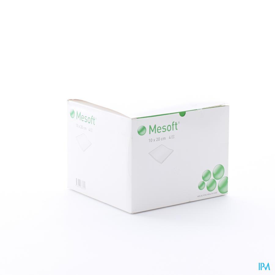Mesoft Kp N/st 4l 10,0x20,0cm 200 156400 - Molnlycke Healthcare