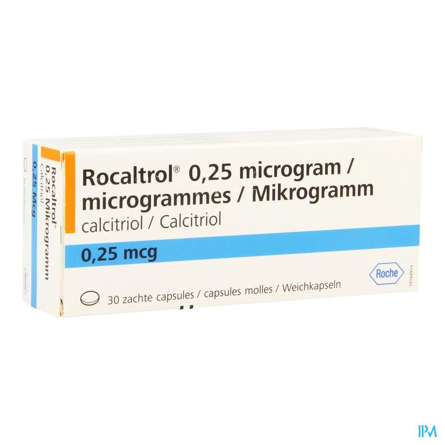 Rocaltrol Caps 30 X 0,25 Mcg