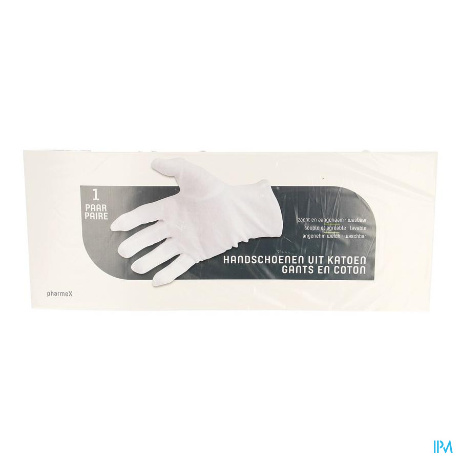 Pharmex Gants Coton Small 2