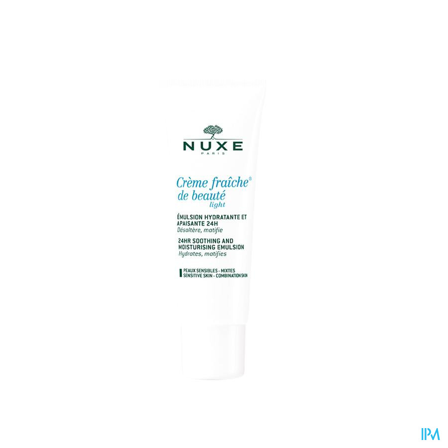 Nuxe Creme Fraiche Beaute Light Gem.huid Tube 50ml