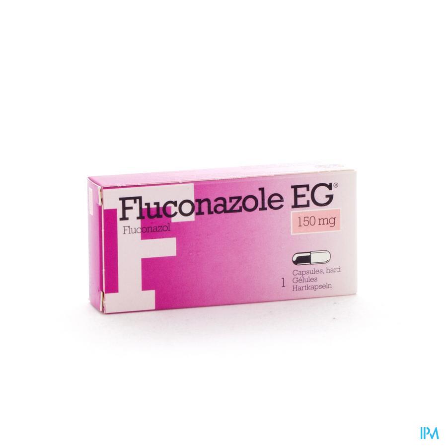 Fluconazol Eg 150mg Caps 1