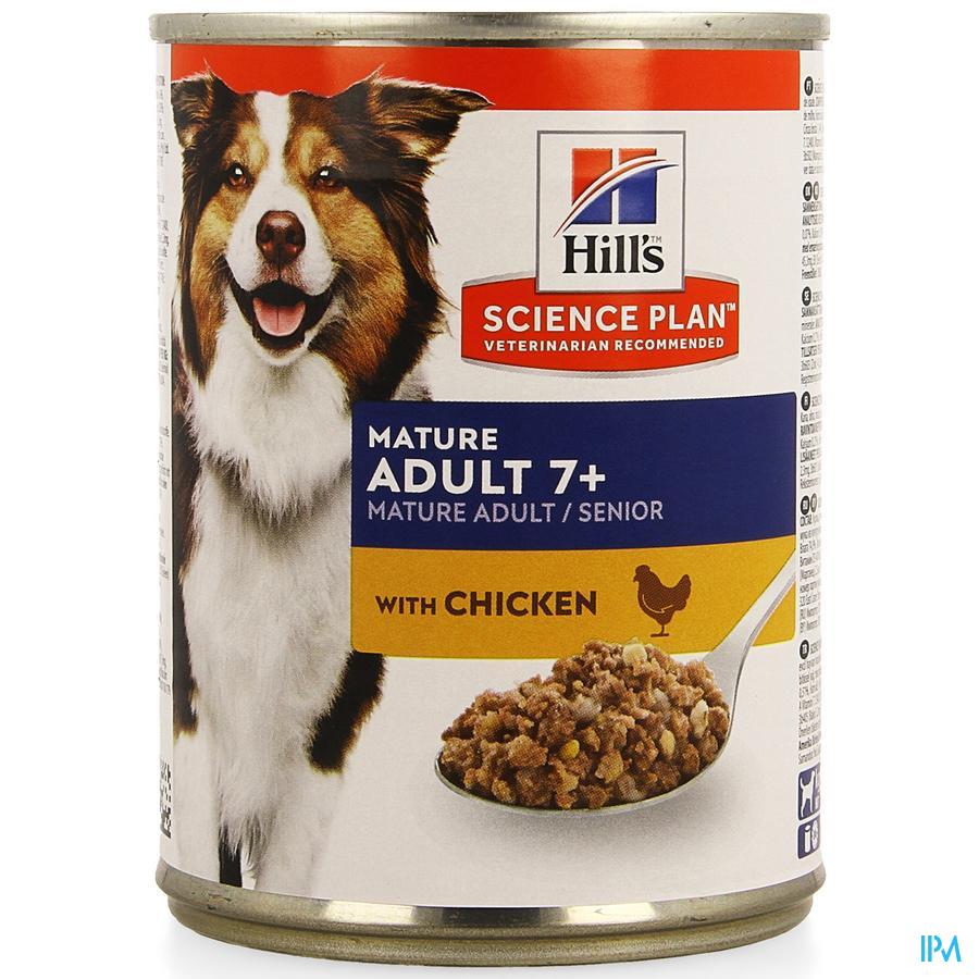 Hills Sc.plan Canine Mature Ad Chicken 370g 8055u