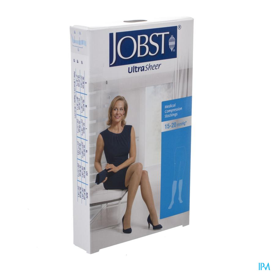 Jobst Ultrasheer Comf.k1 Kniekous Honey l