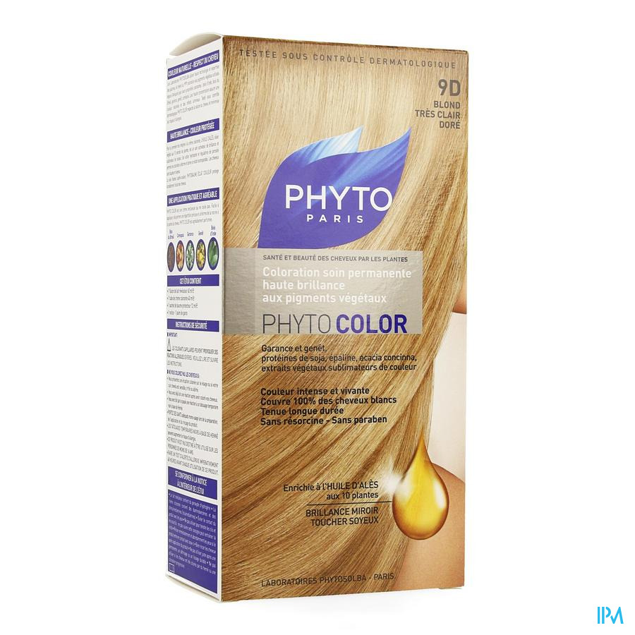 Phytocolor 9d Blond Tres Clair Dore