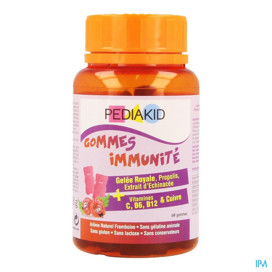 Pediakid Gummes Immunite Gommes A Macher 60