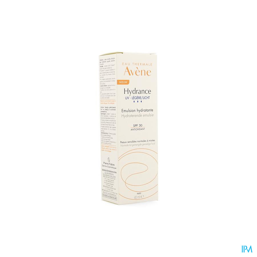 Avene Hydrance Uv Legere Emulsion Hydratante 40ml