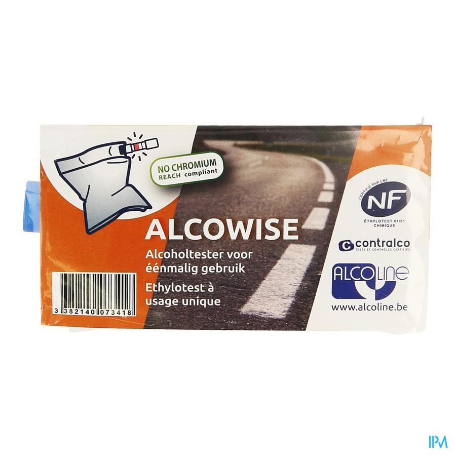 Alcowise Alcoholtester Eenmalig Gebruik