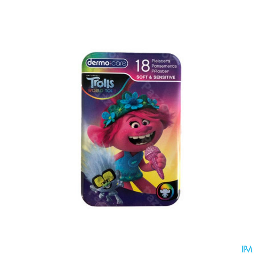 Dermo Care Soft&sensitive Trolls Pans. Strips 18