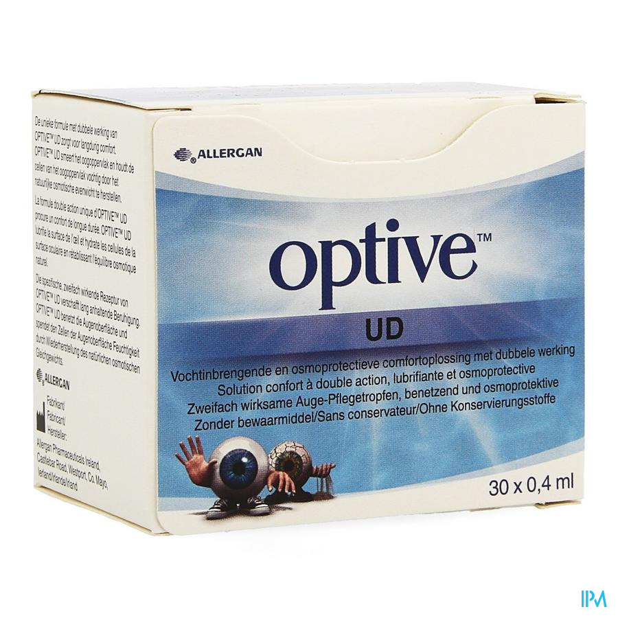 Optive Comfortoplossing Dbbl Werking Ud 30x0,4ml