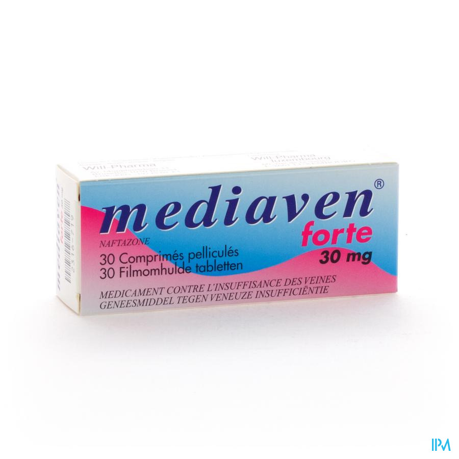 MEDIAVEN FORTE NF COMP PELL 30 X 30 MG
