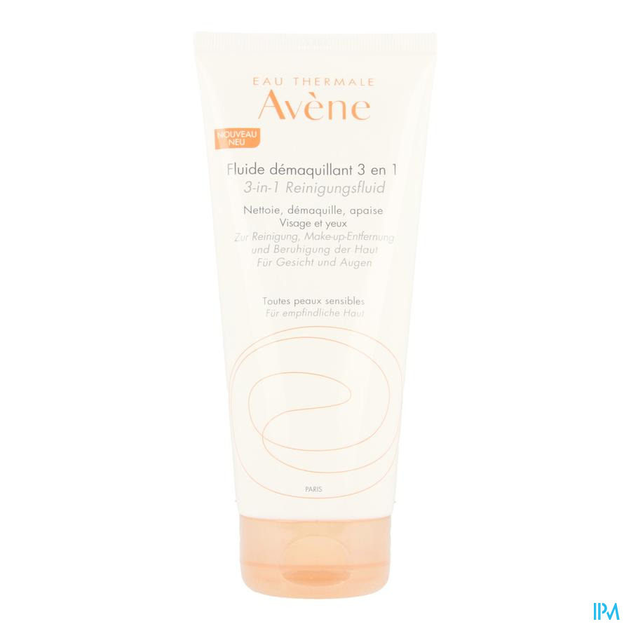 Avene Reiniging Fluide 3in1 200ml