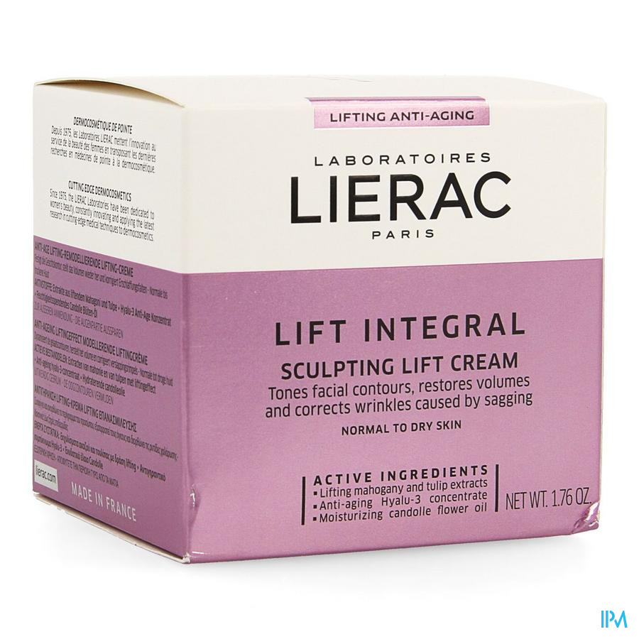 Lierac Lift Integral Creme Remodelante Pot 50ml