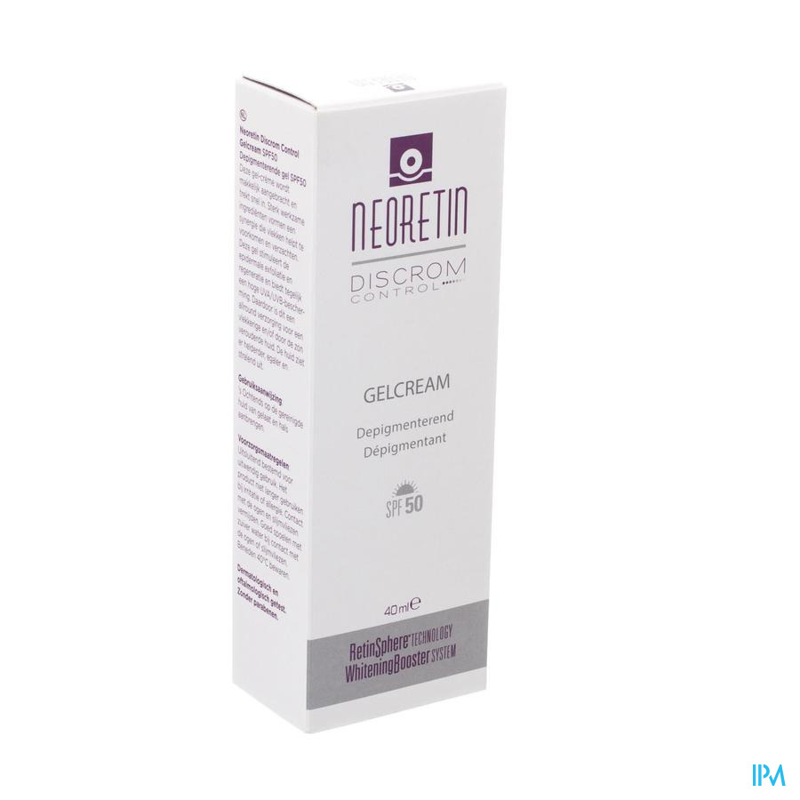 Neoretin Discrom Control Gelcream Ip50 Tube 40ml