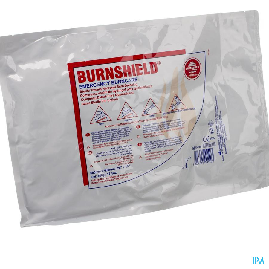 Burnshield 60x40cm Covarmed