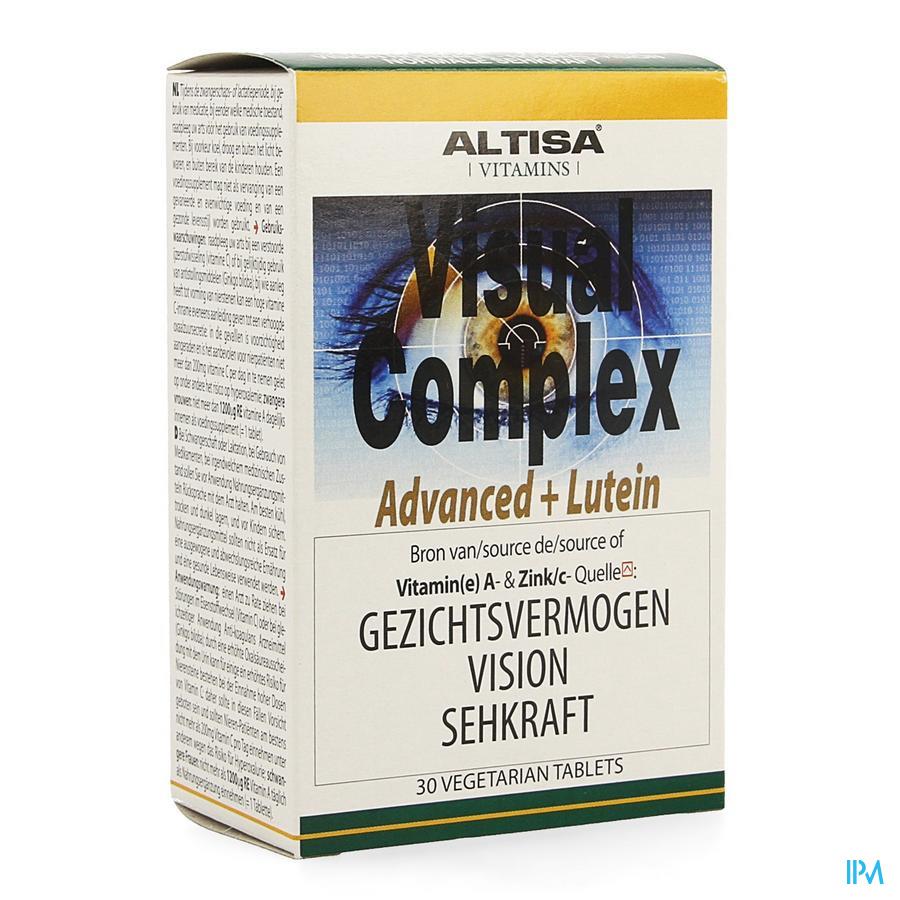 Altisa Visual Complex Advanced+luteine Tabl 30