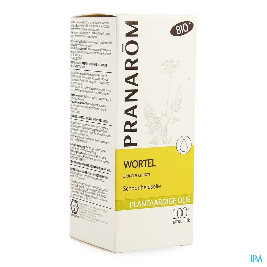 Wortel Bio Plant.olie 50ml Pranarom