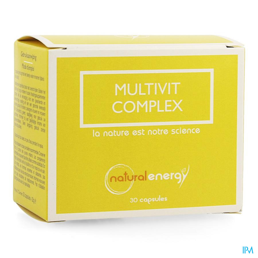 Multivit Complex Natural Energy Caps 30
