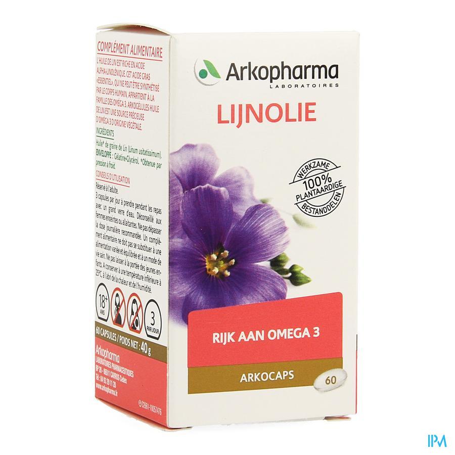 Arkocaps Lijnzaadolie 60