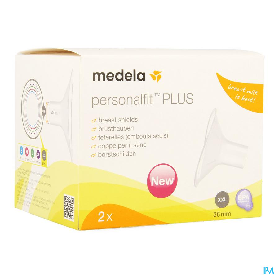 Medela Borstschild Personal Fit Plus Xxl 36mm 1p