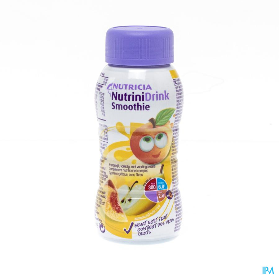 Nutrinidrink Smoothie Fruit Ete Fl 200ml