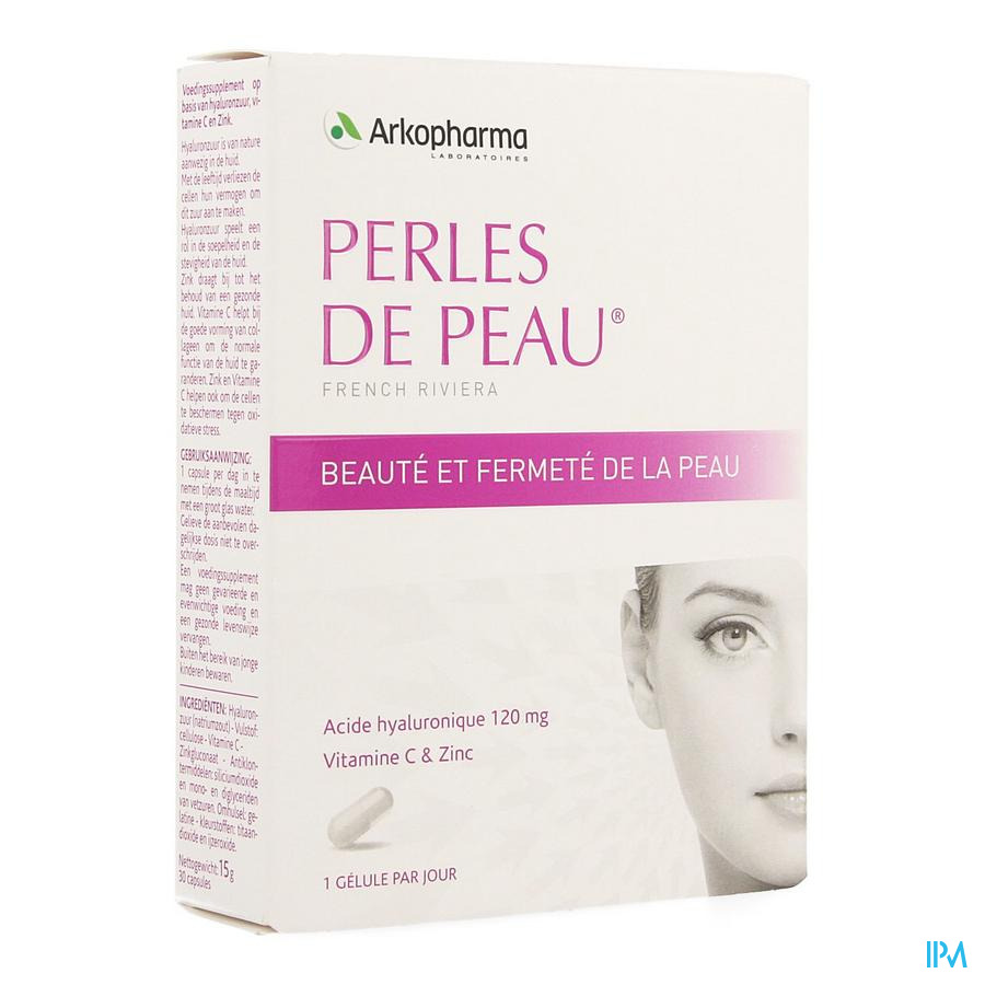 Perles De Peau Acide Hyaluronique Caps 30