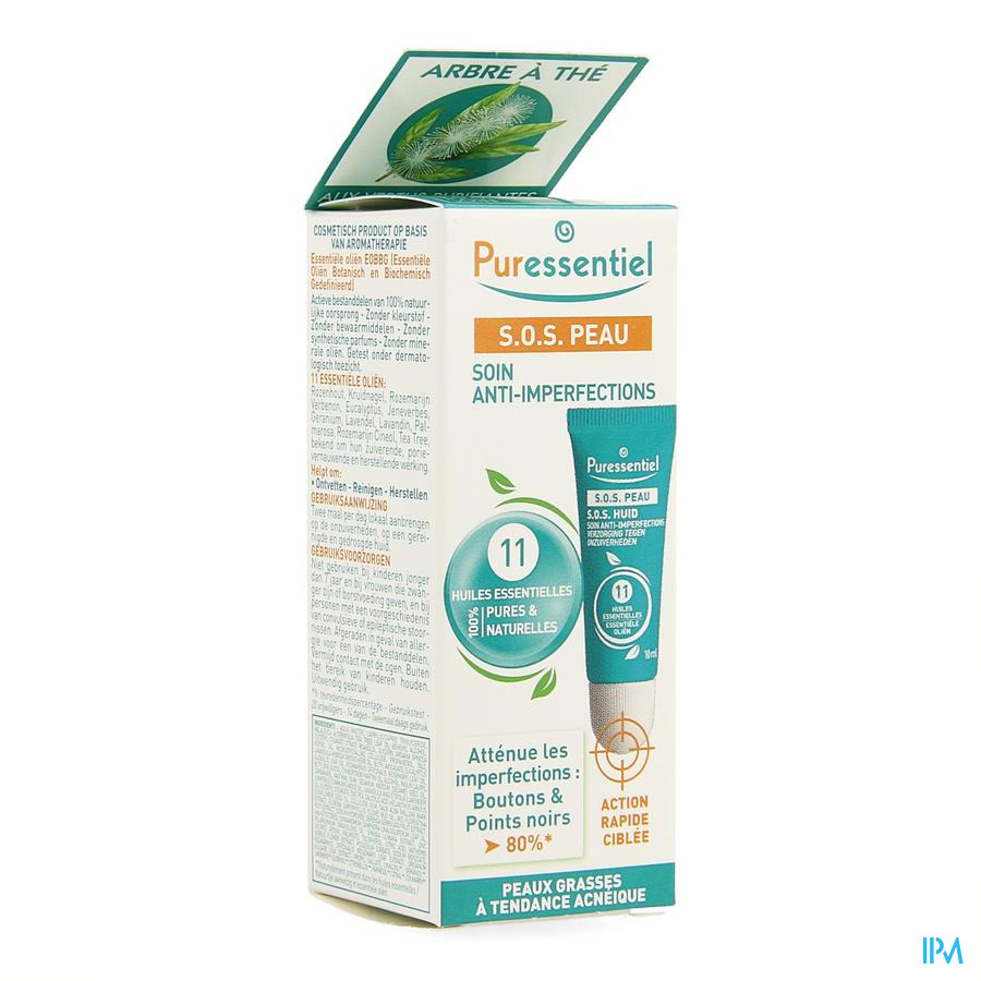 Puressentiel Sos Peau Soin Imperfections 10ml