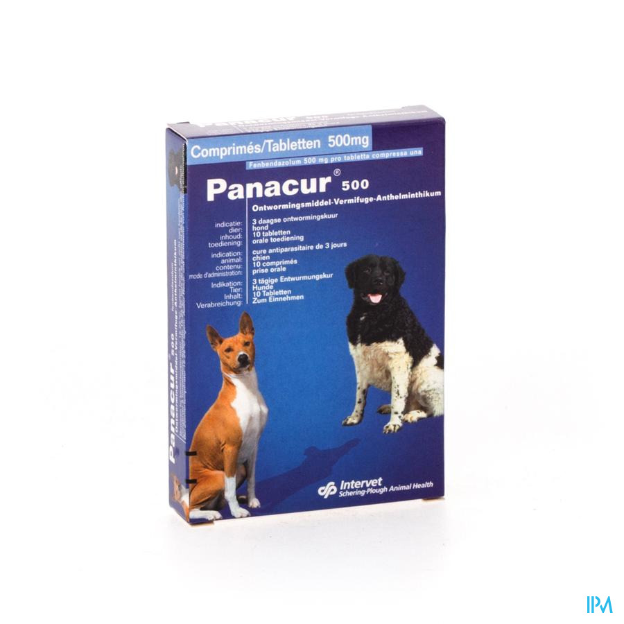 Panacur Tabl 10 X 500mg