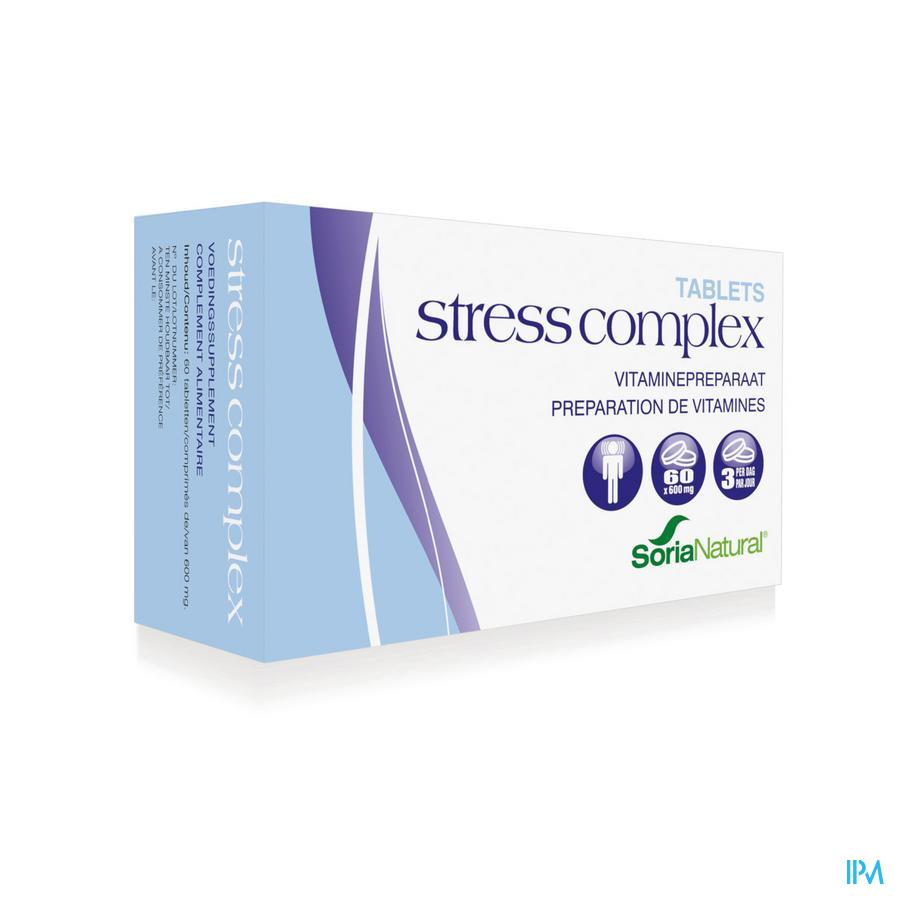 Soria Stress Complex 60 compr.