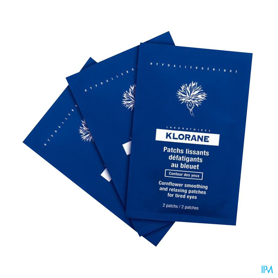 Klorane Bleuet Patch Defatigants 7x2