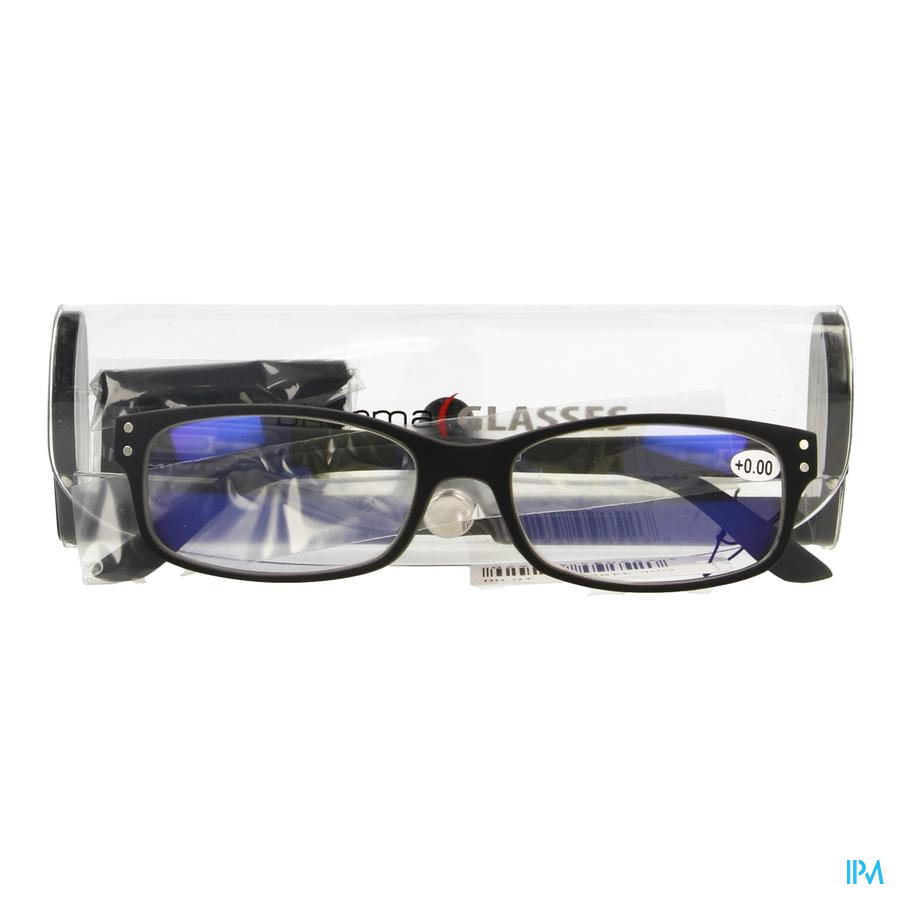 Pharmaglasses Visionblue Pc01 Leesbril +0.00 Black