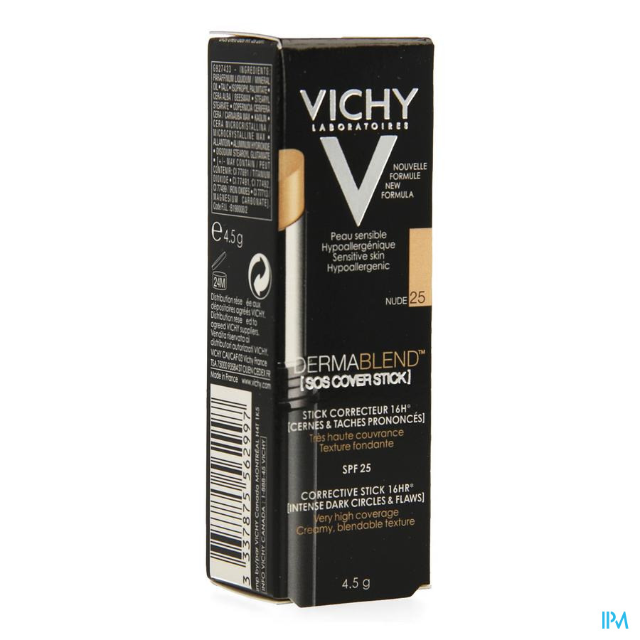 Vichy Fdt Dermablend Sos Cover Stick 25 14u 4,5g