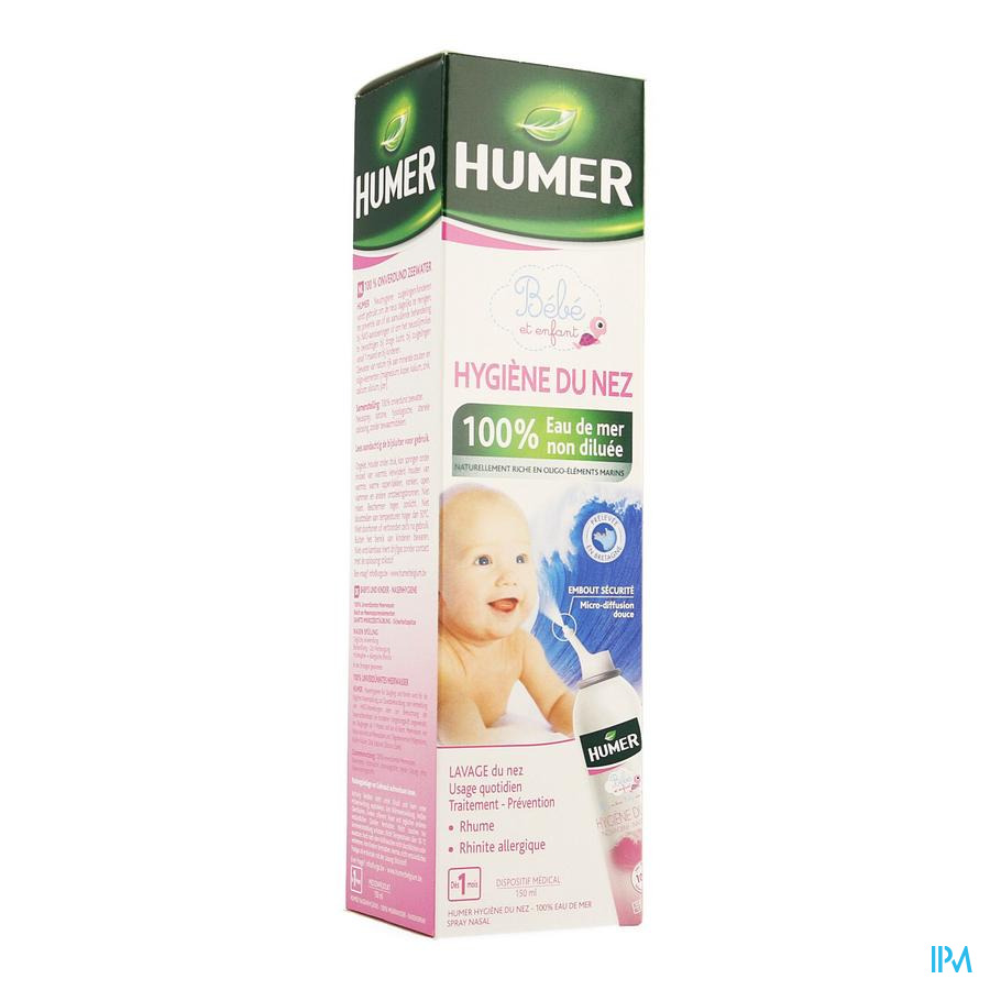 Humer Spray Isotonique Enfant 150ml