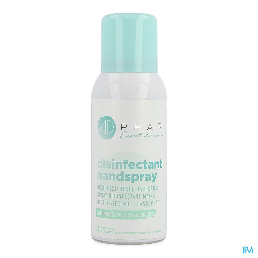 Adephar Desinfecterende Spray Handen 75ml