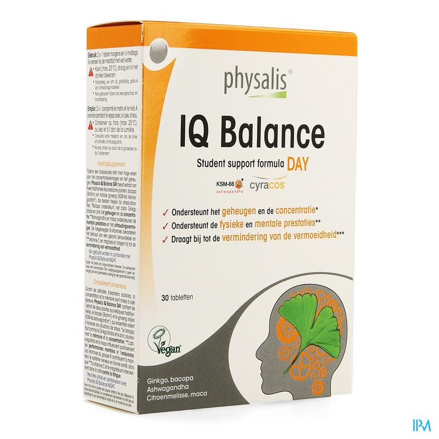 Physalis Iq Balance Day Comp 30